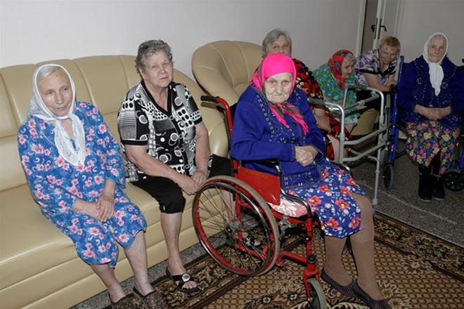 Проживание пенсионеров-инвалидов