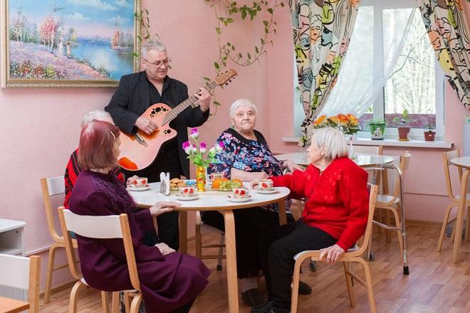 Государственный дом престарелых в Москве