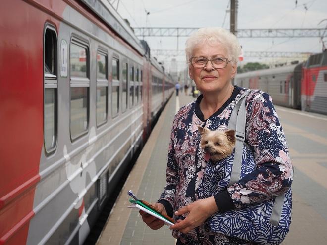 Скидки для пенсионеров от РЖД