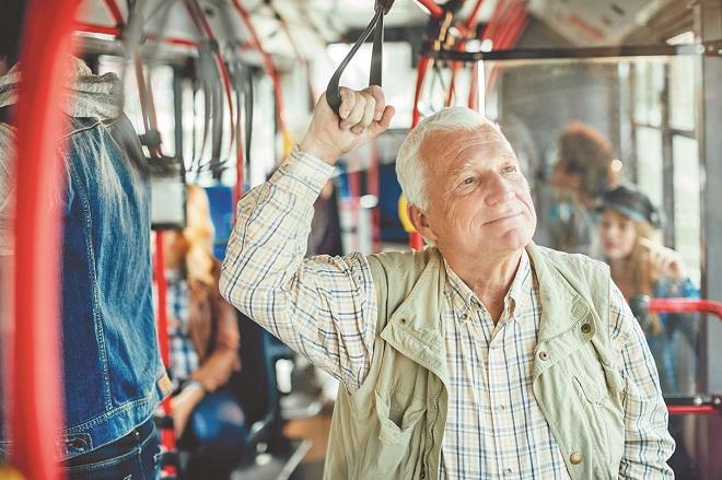 Транспортная карта для пенсионеров